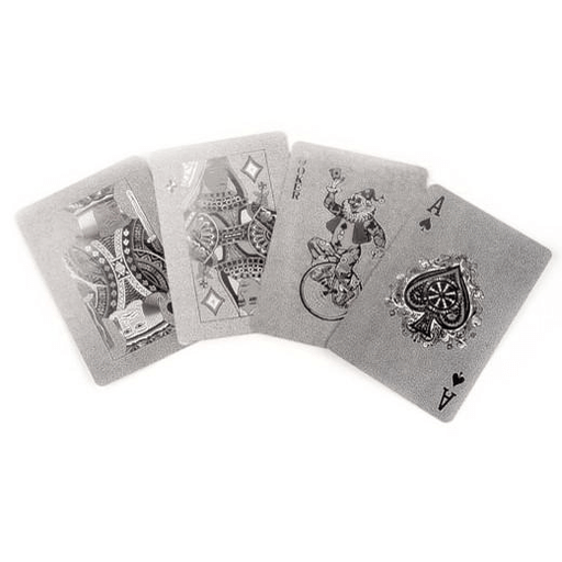 Playing Cards Silver