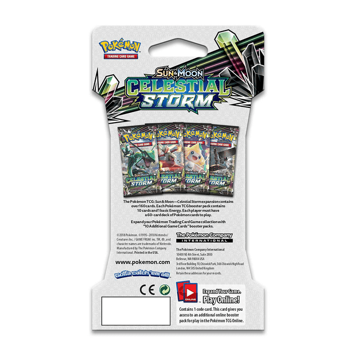 Pokemon Booster Sun & Moon : Celestial Storm