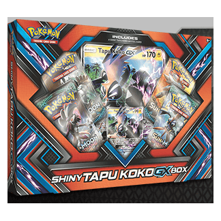 Pokemon : Shiny Tapu Koko GX Box