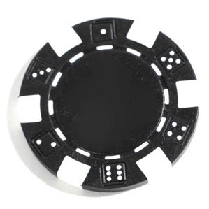 Poker Chips (25ct) Black
