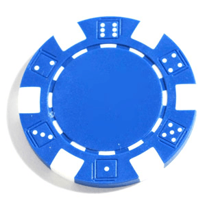 Poker Chips (25ct) Blue