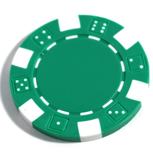 Poker Chips (25ct) Green