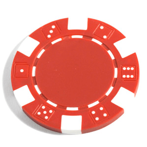 Poker Chips (25ct) Red