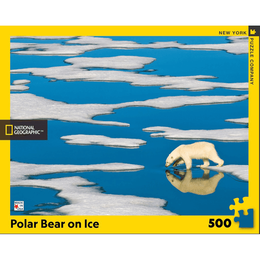 Puzzle (500pc) National Geographic : Polar Bear on Ice