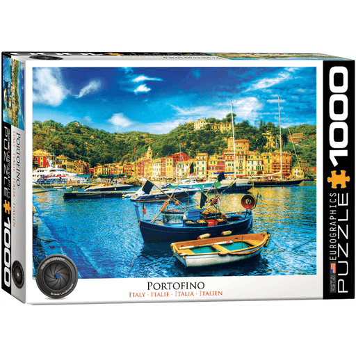 Puzzle (1000pc) HDR Photography : Portofino Italy