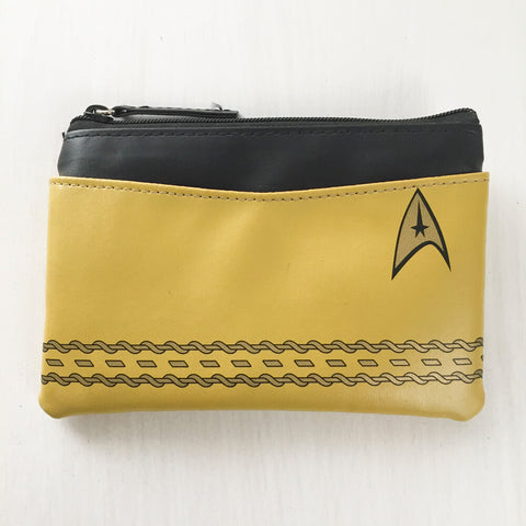 Star Trek Uniform Pouch : Gold