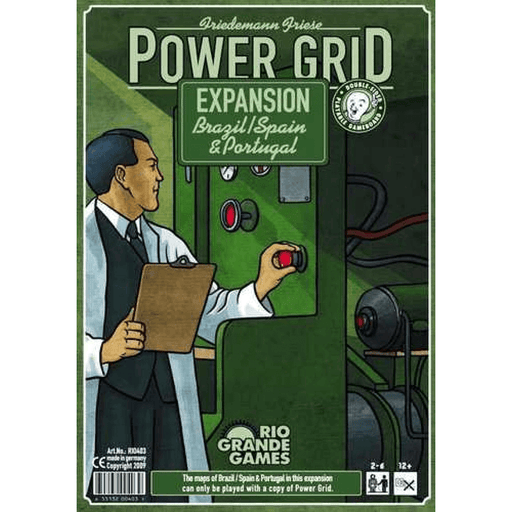 Power Grid Expansion Collector's Box : Brazil / Spain & Portugal