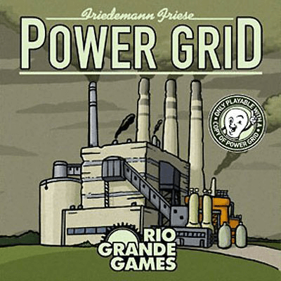 Power Grid Expansion : Power Plant Cards