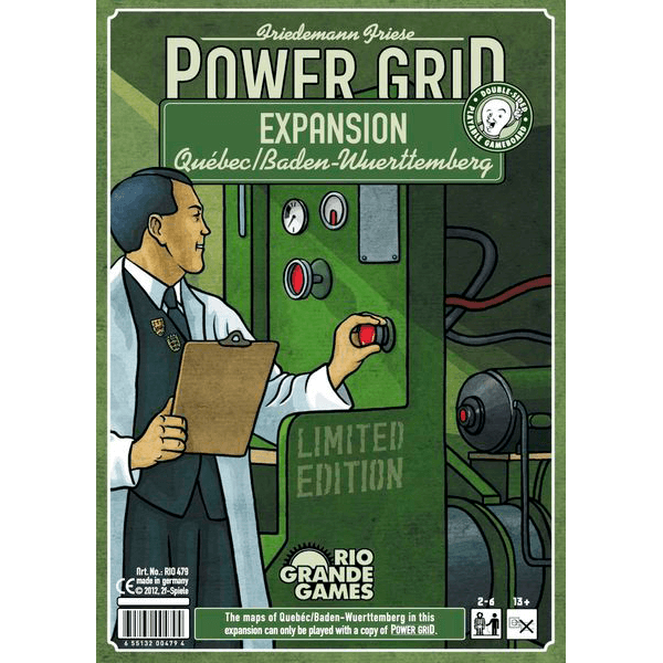 Power Grid Expansion : Quebec / Baden-Wuerttemberg