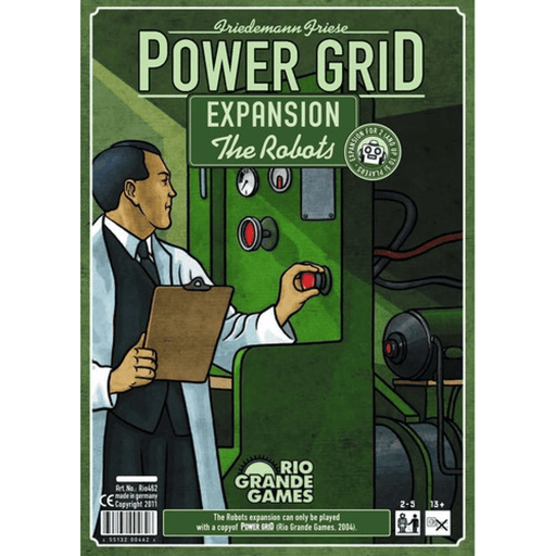 Power Grid Expansion : Robots