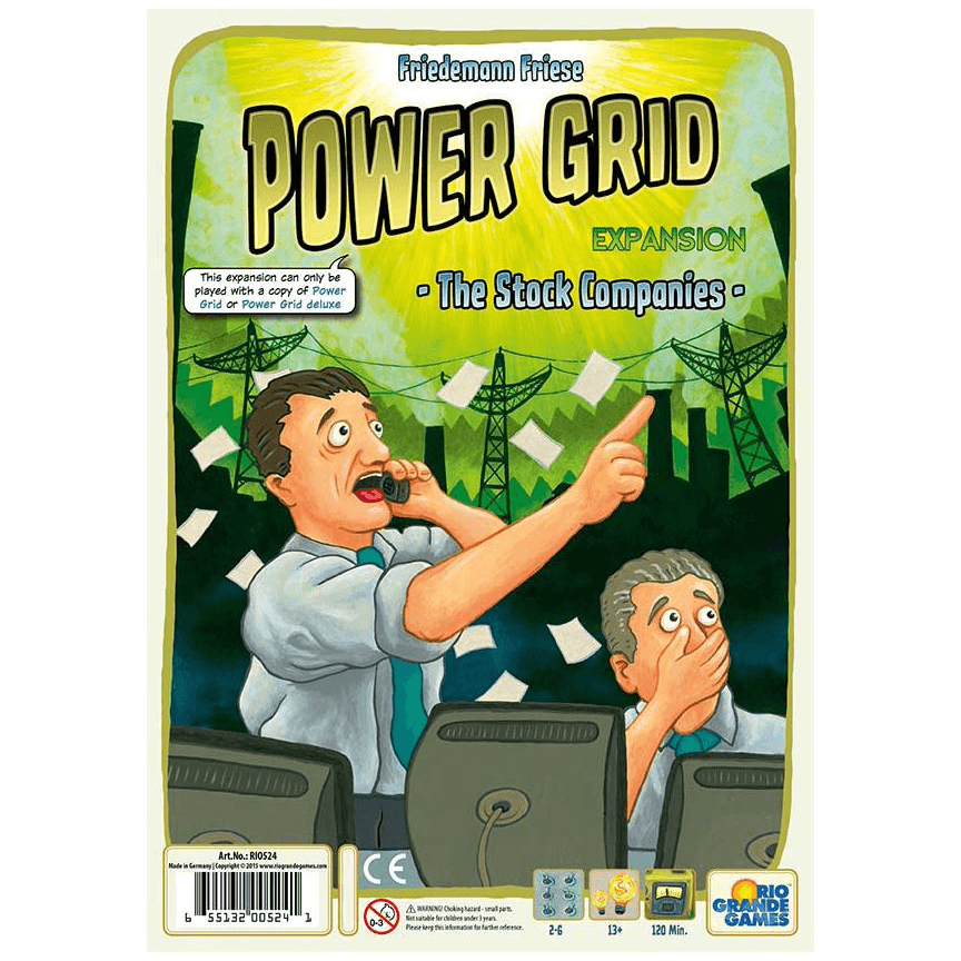 Power Grid Expansion : The Stock Companies
