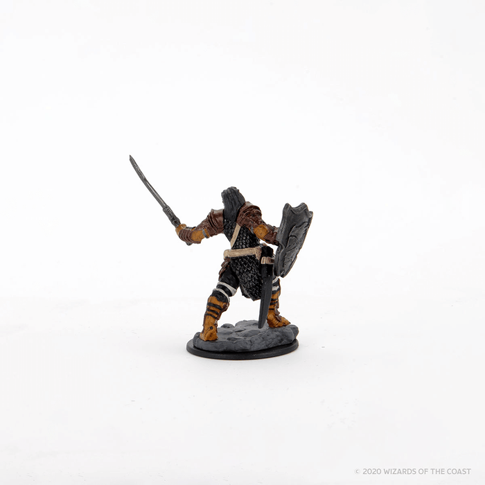 Mini - D&D Icons of the Realms Premium : Dragonborn Paladin (Female)