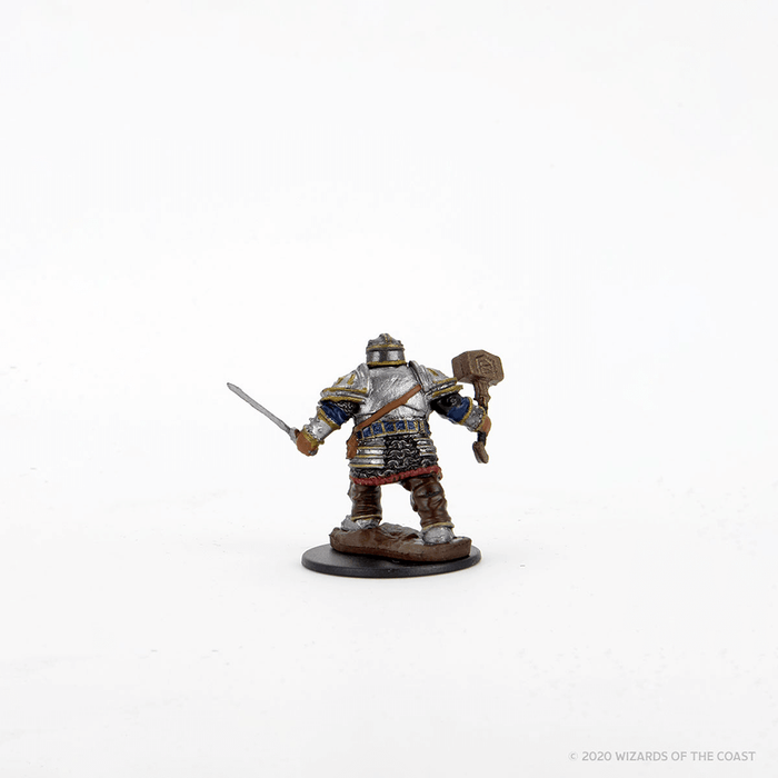 Mini - D&D Icons of the Realms Premium : Dwarf Fighter (Male)