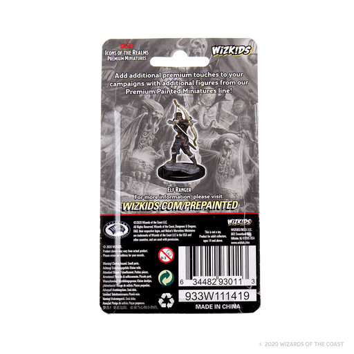 Mini - D&D Icons of the Realms Premium : Elf Ranger (Female)