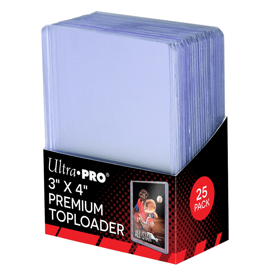"Ultra Pro Top Loaders (3""x4"" 25ct) Premium"