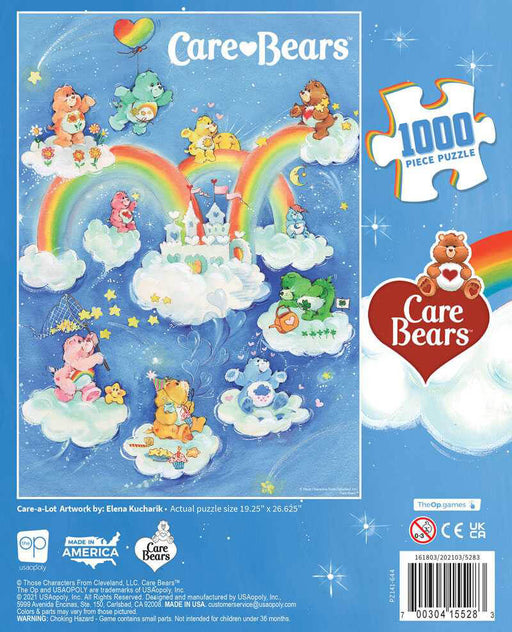 Puzzle (1000pc) Care Bears : Care-a-Lot