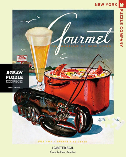Puzzle (1000pc) Gourmet : Lobster Boil
