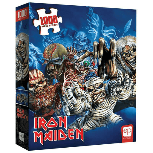 Puzzle (1000pc) Iron Maiden Faces of Eddie