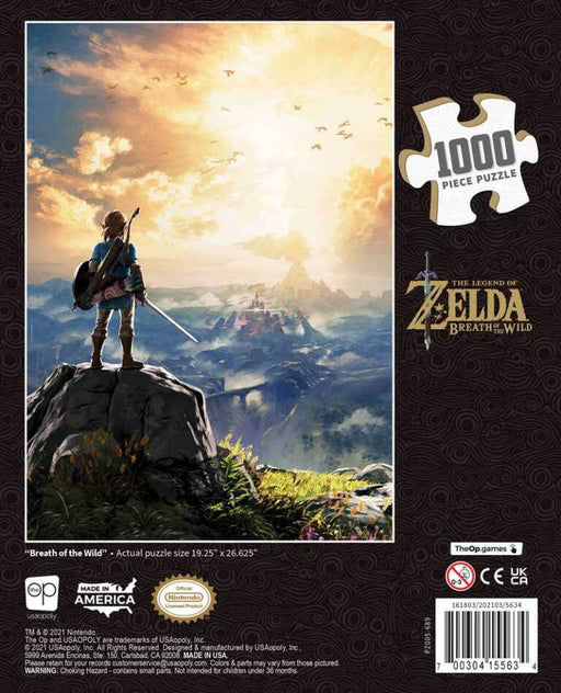 Puzzle (1000pc) Zelda : Breath of the Wild