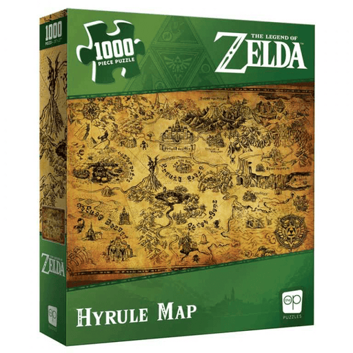 Puzzle (1000pc) Zelda Hyrule Map