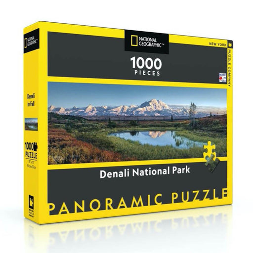 Puzzle (1000pc) National Geographic : Denali National Park