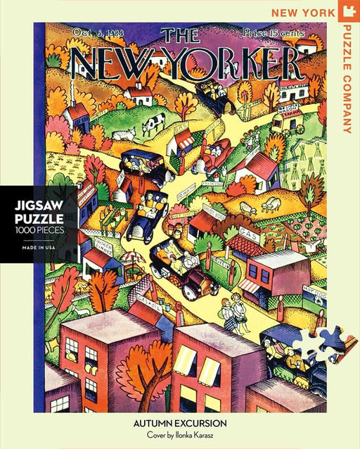 Puzzle (1000pc) New Yorker : Autumn Excursion