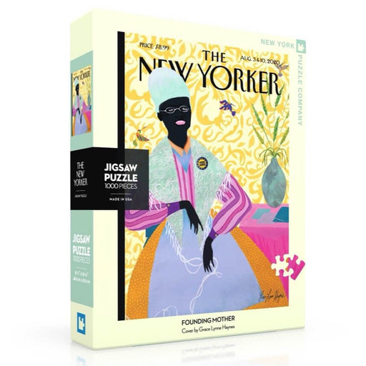 Puzzle (1000pc) New Yorker : Founding Mother