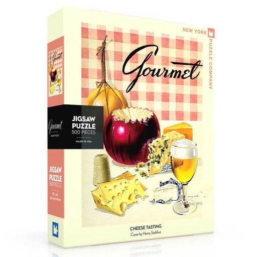 Puzzle (500pc) Gourmet : Cheese Tasting