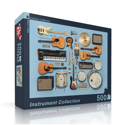 Puzzle (500pc) Instrument Collection