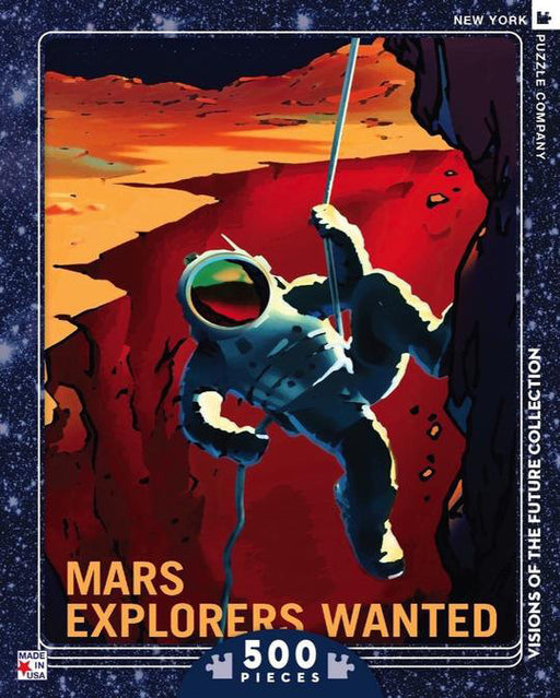 Puzzle (500pc) Visions of the Future : Mars Explorers Wanted