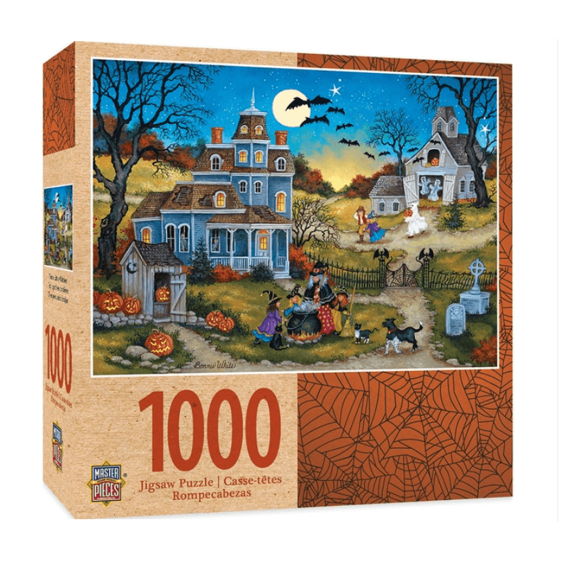 Puzzle (1000pc) Bonnie White : Three Little Witches