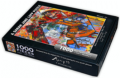 Puzzle (1000pc) SJ Lapp : Mercy 43