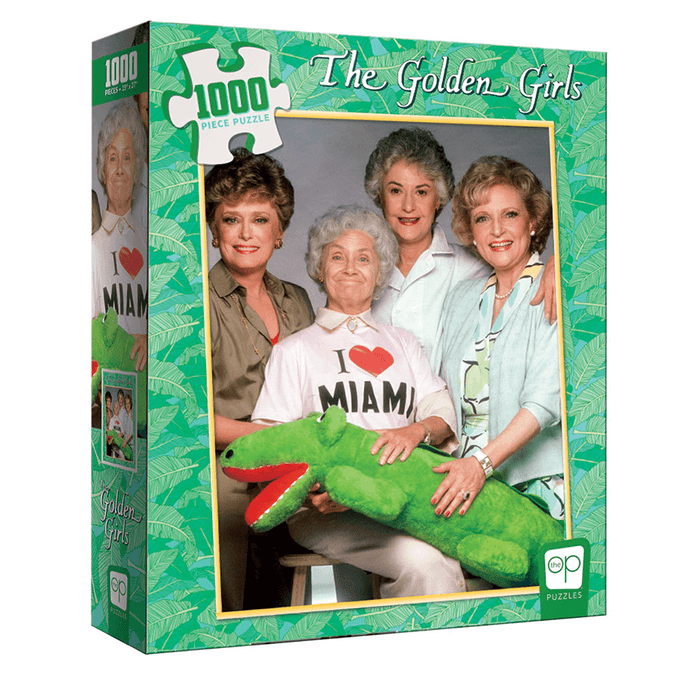 Puzzle (1000pc) The Golden Girls I Heart Miami
