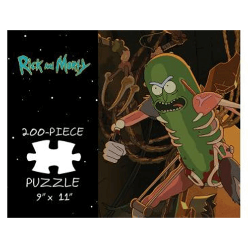Puzzle (200pc) Rick and Morty : Pickle Rick