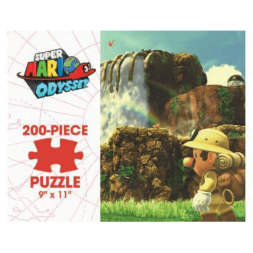 Puzzle (200pc) Super Mario Odyssey : Cascade Kingdom
