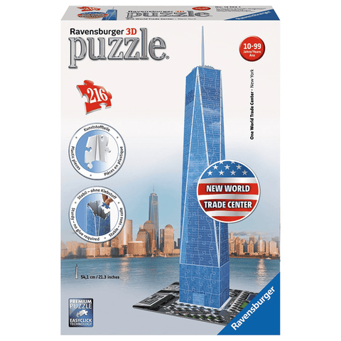 Puzzle (216pc) Ravensburger 3D : New World Trade Center