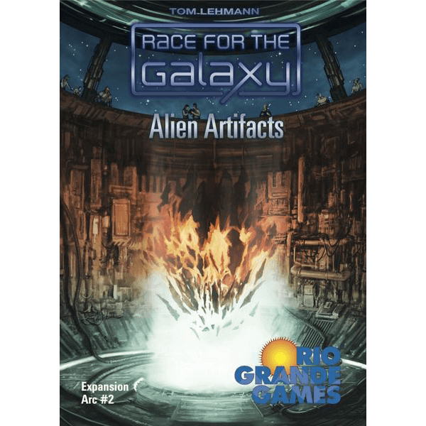 Race for the Galaxy Expansion : 4 Alien Artifacts