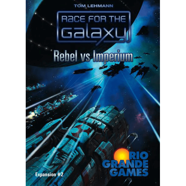 Race for the Galaxy Expansion : 2 Rebel vs Imperium