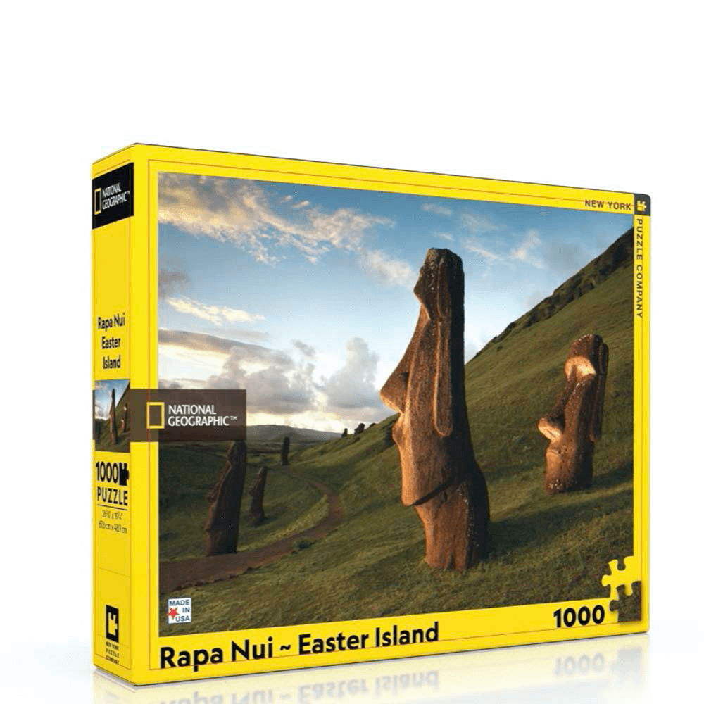 Puzzle (1000pc) National Geographic : Rapa Nui Easter Island