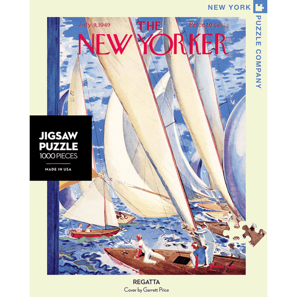 Puzzle (1000pc) New Yorker : Regatta