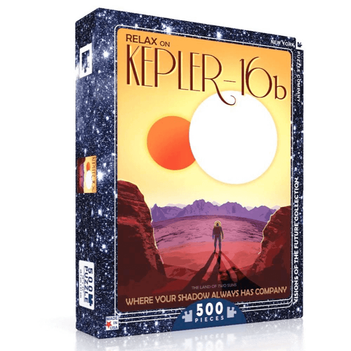 Puzzle (500pc) Visions of the Future : Relax on Kepler-16b