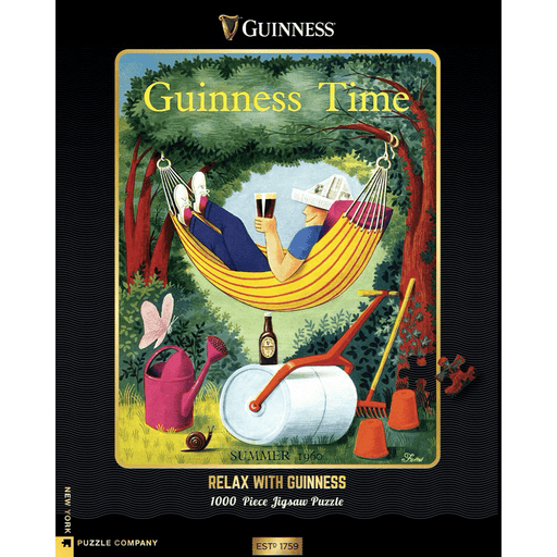 Puzzle (1000pc) Guinness : Relax With Guinness
