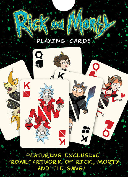 Playing Cards Rick and Morty