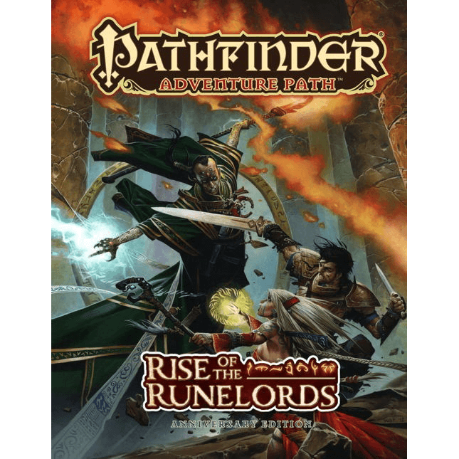 Pathfinder Adventure Path : Rise of the Runelords