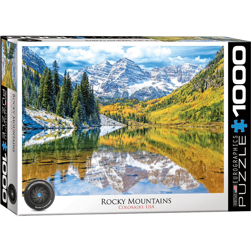Puzzle (1000pc) HDR Photography : Rocky Mountain National Park