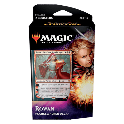 MTG Planeswalker Deck : Throne of Eldraine (ELD) Rowan