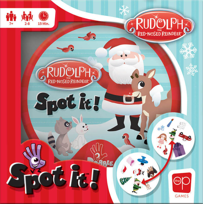 Spot It! Rudolph the Red-Nosed Reindeer
