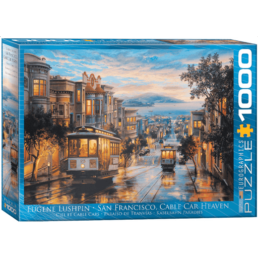 Puzzle (1000pc) Artist Series : San Francisco Cable Car Heaven