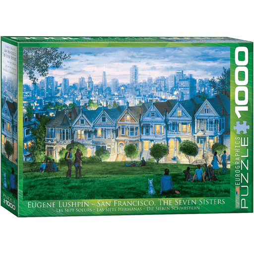 Puzzle (1000pc) Artist Series : San Francisco Seven Sisters