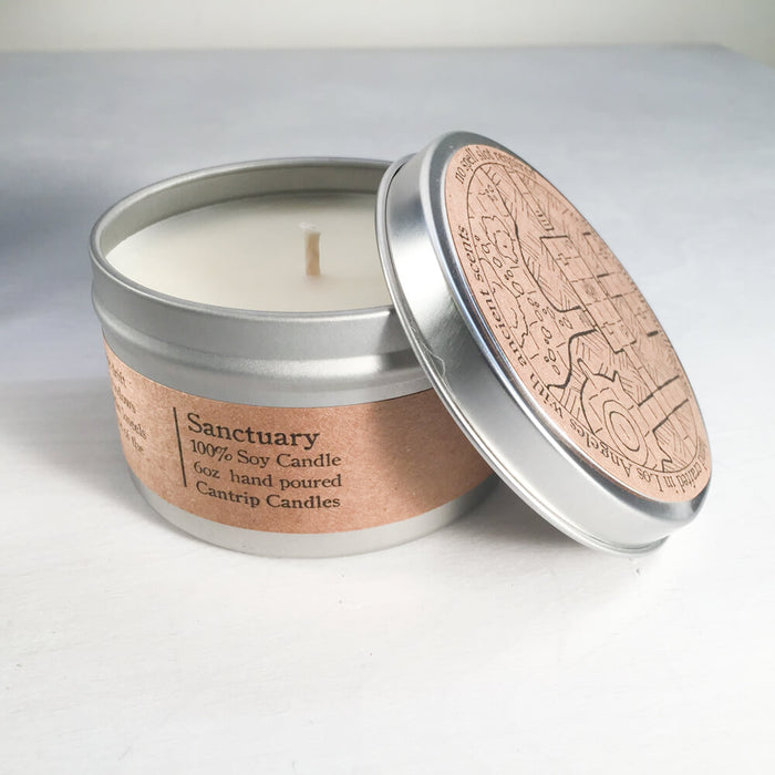 Cantrip Candles (6oz) Sanctuary